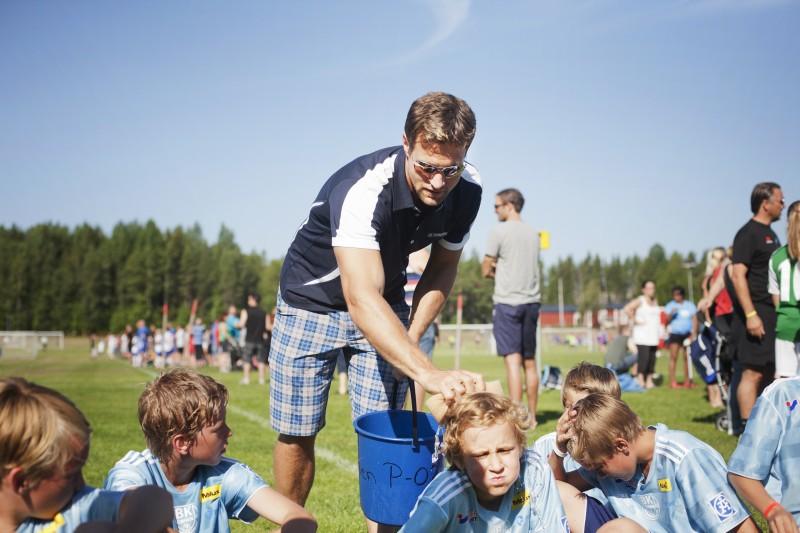 Fotbollscup nydala. Markus Näslunds lag.