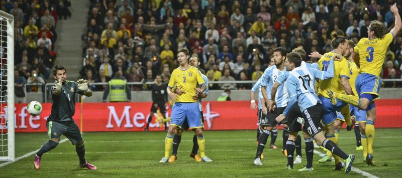 Fotboll landskamp 5