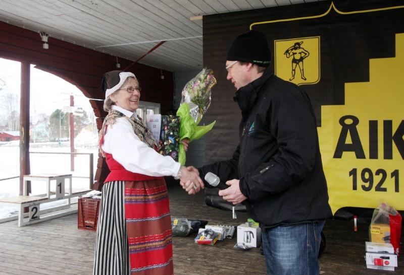I samband med prisutdelningen utsågs Irma Norlander till Årets Åselebo för bl a sitt engagemang för folkdanslaget. Hon uppvatades av Peter Lindström, ordförande i kultur- och fritidsnämnden i Åsele.
