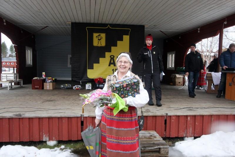 - Jag är jättestolt, och glad och tacksam, säger Irma Norlander om utmärkelsen.