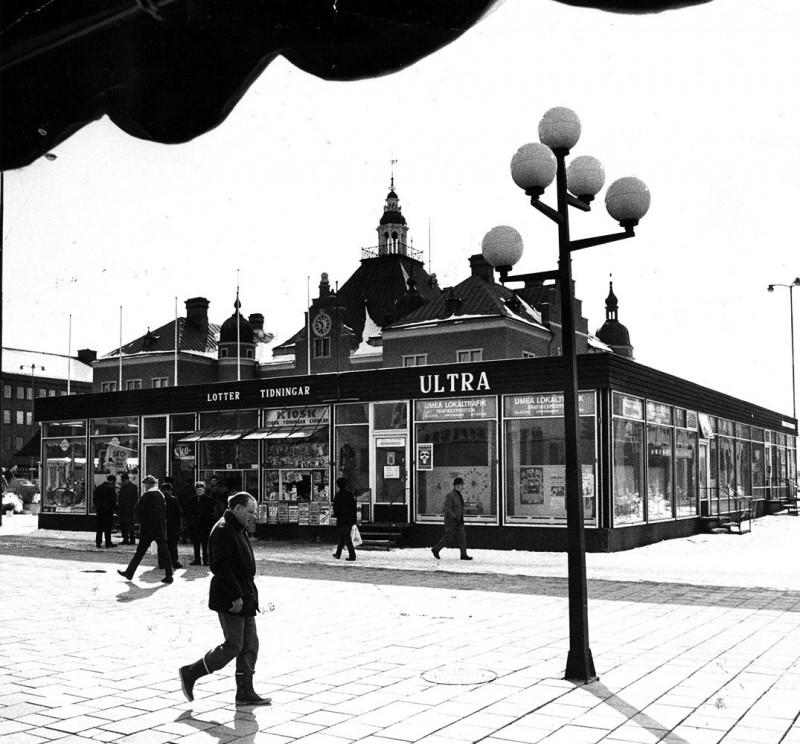Torgbarackerna - var en tillfällig lösning när man byggde om centrum - men blev kvar i årtionden.